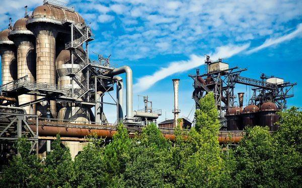 Old industrial park