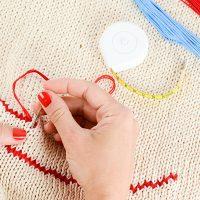 Knitting detail