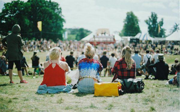 People on festival